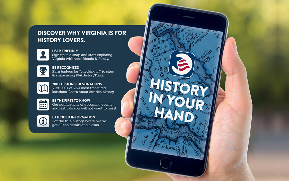 Virginia History Trails App